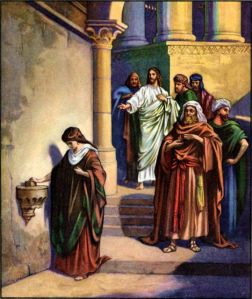 The Widow's Mite Luke 21:1-4
