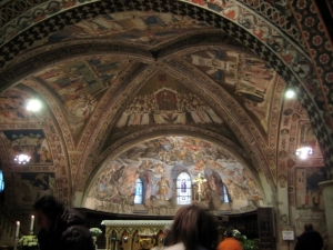 Ceiling at Basilica of St. Francis in Assisi, 13th century
