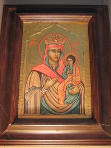 Icon of Madonna and Child