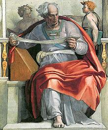Michelangelo's Prophet Joel